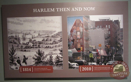 Harlem Then and Now Grange Plaque