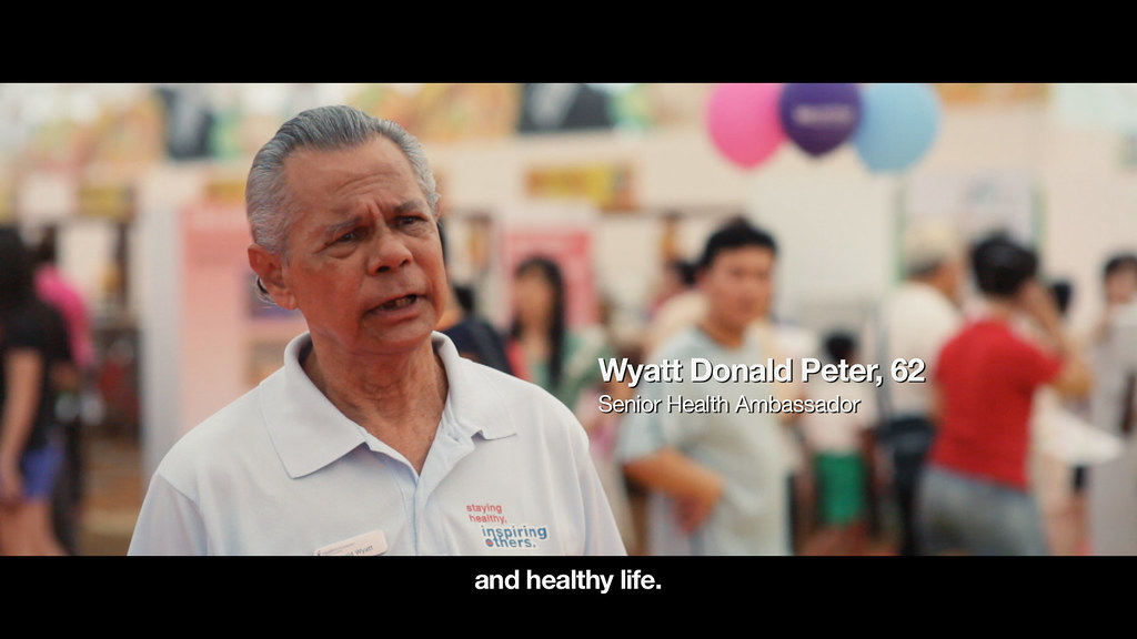 Health Promotion Board Singapore corporate video production