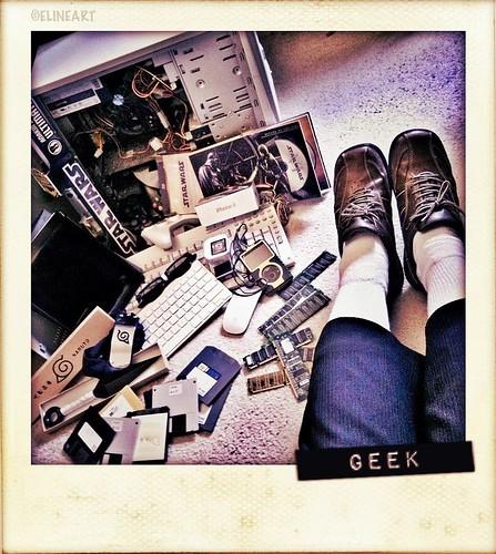 292/365- Geek characteristics by elineart