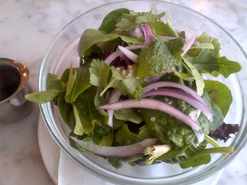 Herb Salad at Motorino