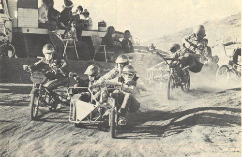 Bicycle Sidecar Racing