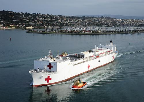 USNS Mercy Departs for Pacific Partnership 2012 | Commander, U.S. ...