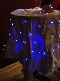 Interactive LED Matrix Blanket (installed) | by relaxing