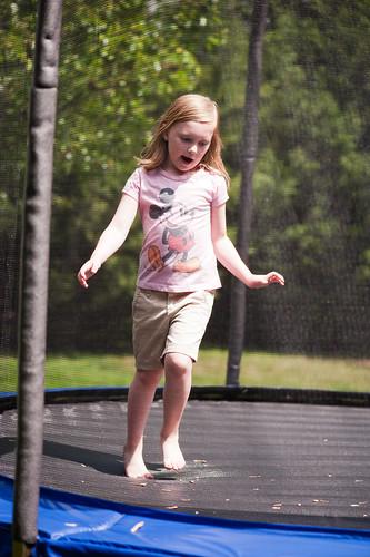 053 Abby trampoline