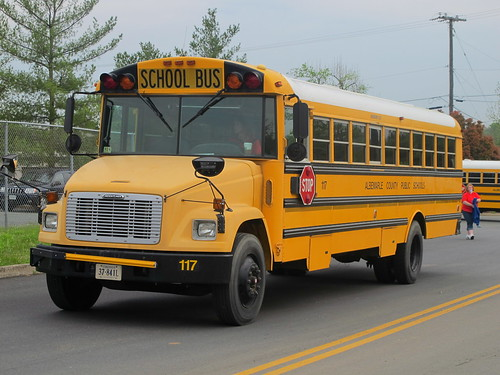 32166 Albemarle County School Bus Road-e-o