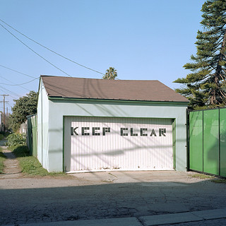 keep clear. venice beach, ca. 2012.