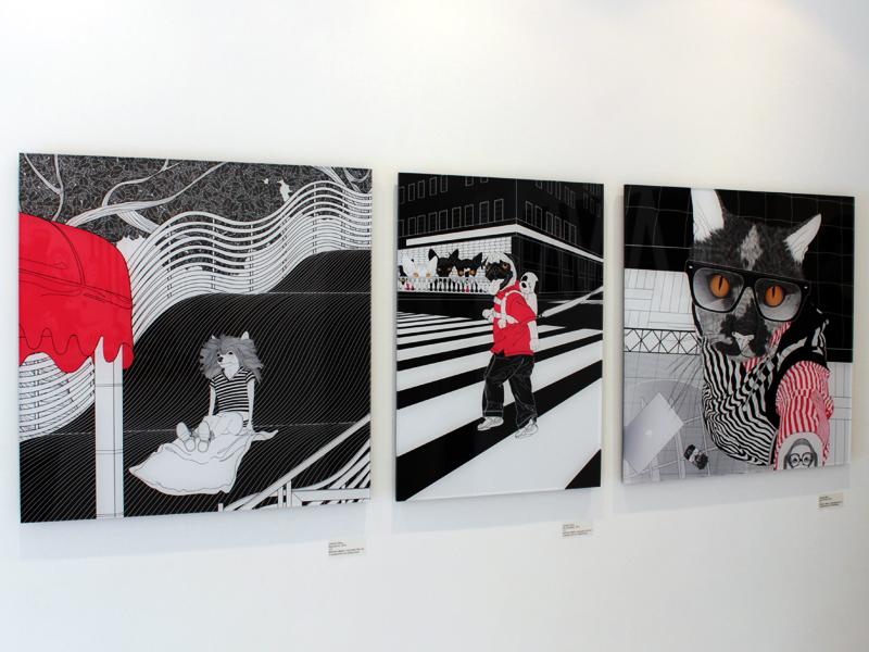 """Abertura das individuais """"Fio Condutor"""" e """"Empresto aos meus desenhos minhas memórias"""" na Galeria AVA"""