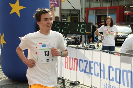 Juniorský maraton oběhne Česko a vydá se až do Bruselu
