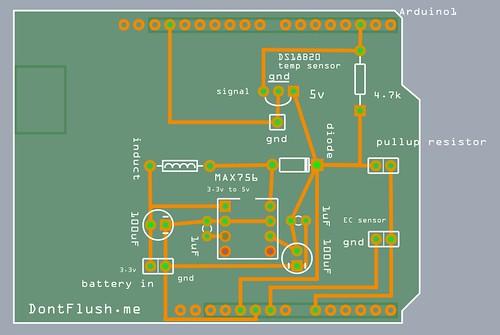 Water sensor shield diy ec