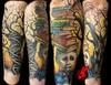atheist tattoo by Jackie Rabbit tattoo by Jackie