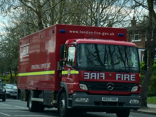 London Fire Brigade - E29A - Operational Support Unit