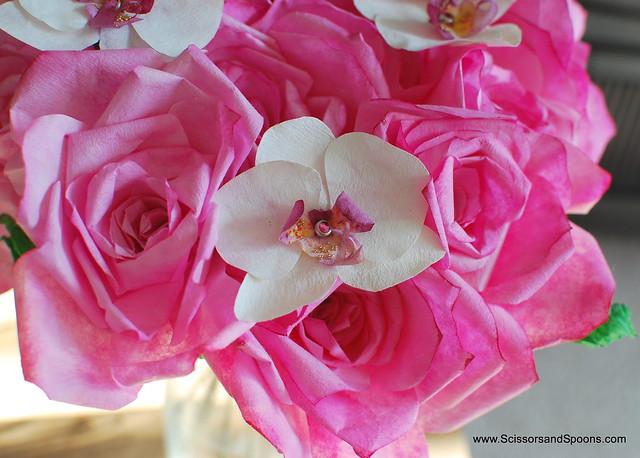 DIY Paper Magnolias