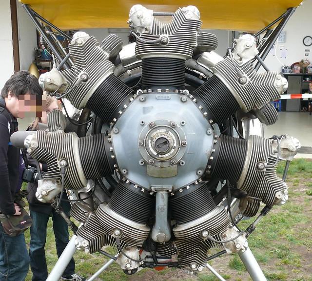 Radial Engine Contineental R-670 1941 v