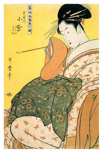 001-Komurasaki of the Tamaya-Kitagawa Utamaro-1794-Ciudad de la Pintura