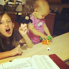 #widn Bible study while my kids act silly  #whatimdoingnow #whatimdoingrightnow