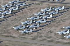 AMARG, AZ from the air 13/03/2012