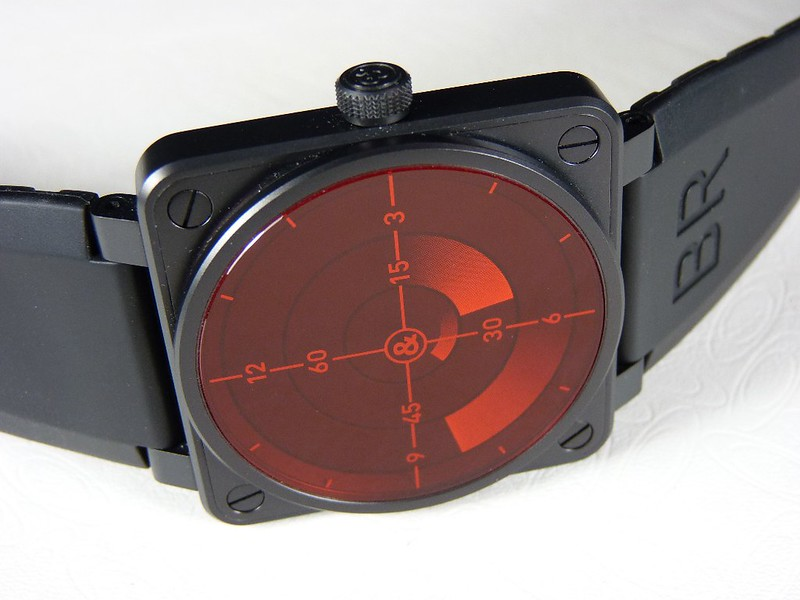 Bell & Ross BR01-92 RED RADAR Limited Edition - 46mm