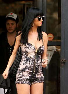 Katy Perry Jumpsuit Celebrity Style Women's Fashion