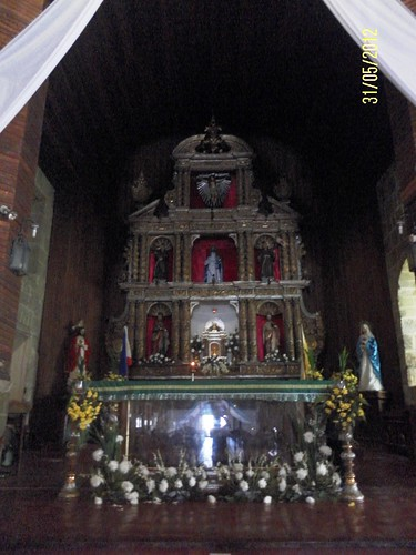 main altar of St John the Apostle Church