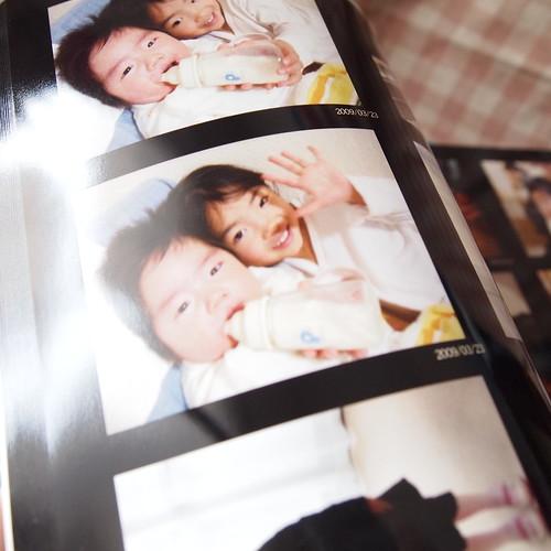 オートアルバム 子供の写真集