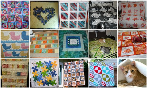 finished quilts - January through June 2012