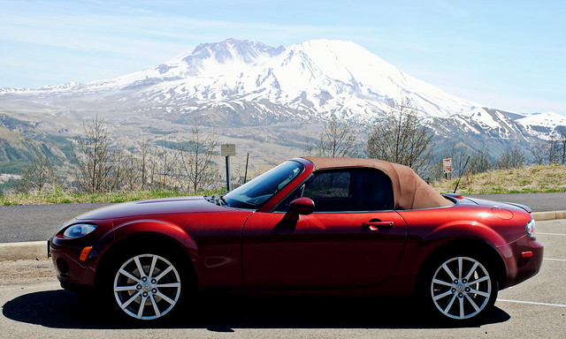 a Sunday drive up to Mt. St. Helens