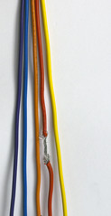 orange, electrical supply, cable, wire, electrical wiring,