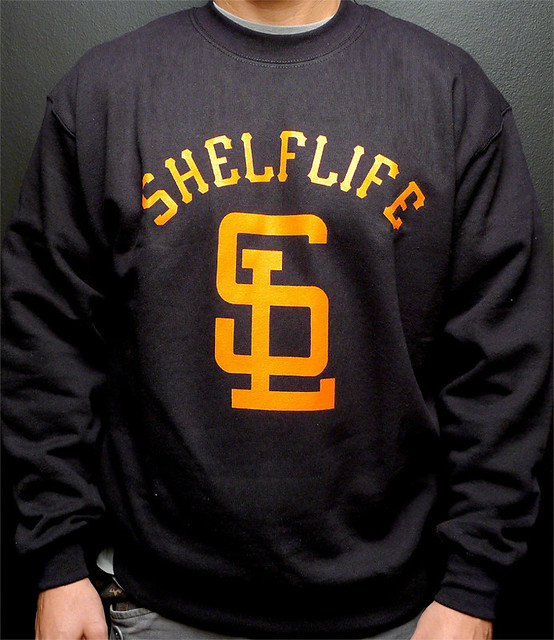 SHELFLIFE SWEATER BLACK