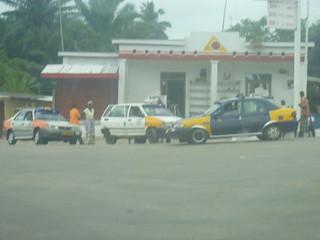 Gas station in Ghana