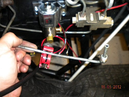 fox line lock install lots of pics ford mustang forums on Add a Phase Wiring Diagram Front Locker Switch Diagram for then cut off the fitting off the line (save this fitting) and installed a fitting from the line lock install kit and attached it to the side port of the
