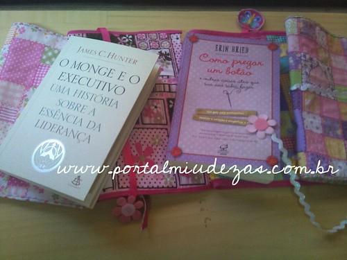 Capas de tecido para livros ou cadernos by miudezas_miudezas