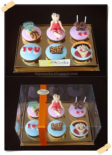 One Piece Cupcake