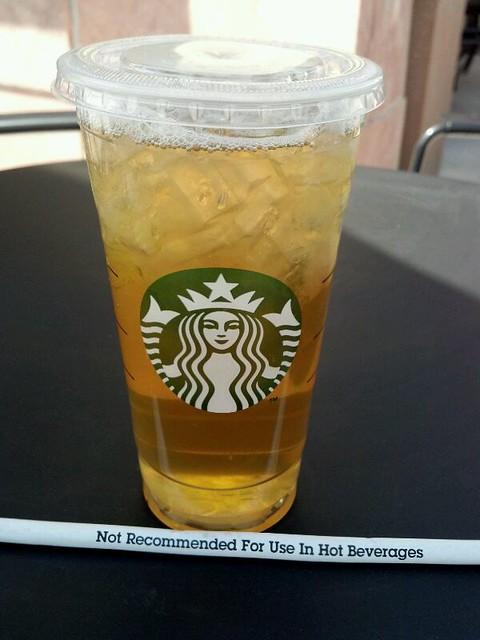 Sweetened Iced Green Tea @ Starbucks | Flickr - Photo Sharing!
