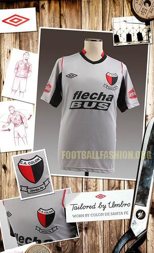 Colón de Santa Fe Umbro 2012 Third Soccer Jersey / Football Kit / Camiseta