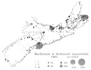 MacDonalds in Nova Scotia 1985