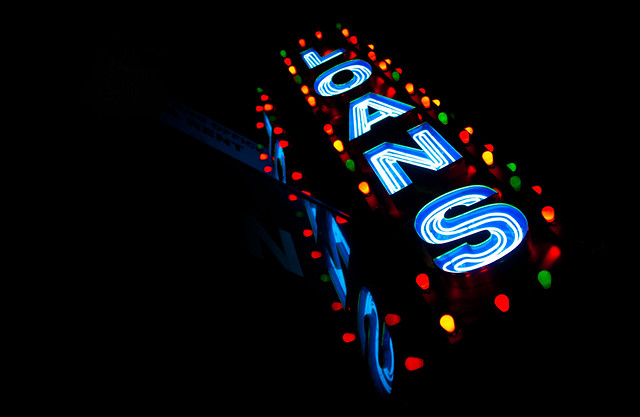 Loans Sign - 47th Street Diamond District, Manhattan NYC