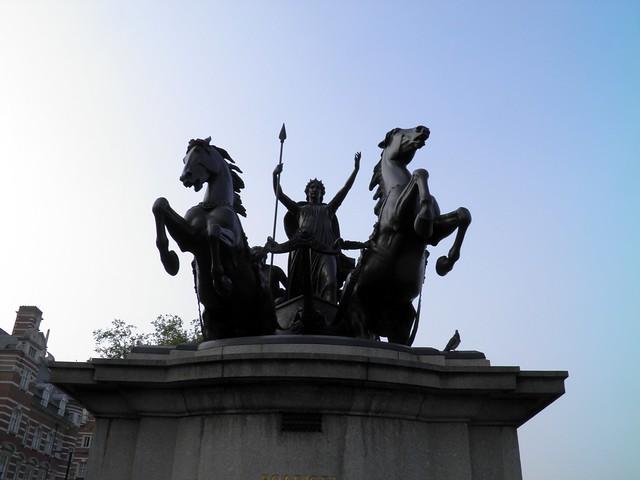 Boudicca Statue: Westminster Bridge, London
