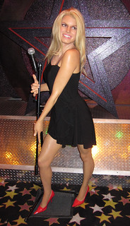 Jessica Simpson at Madame Tussaud's Las Vegas