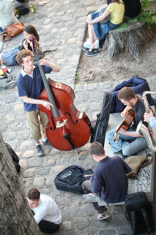 Concert by the Seine