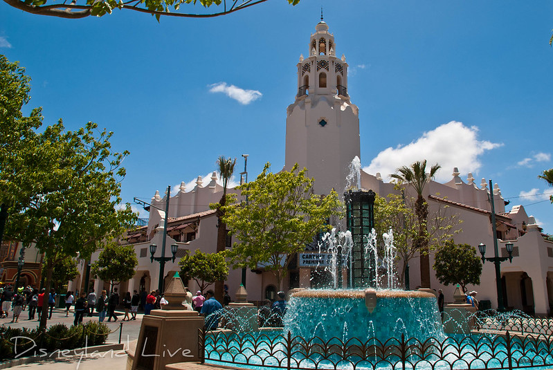Carthay Circle Fountain, Buena Vista Street