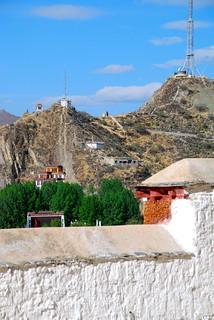 Attēls no Potala Palace pie Lhasa. tibet lhasa potalapalace