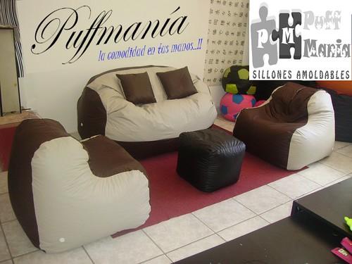 Juego Sala,sofa,sillones,muebles,puff,departamnto,decoracion (Muebles