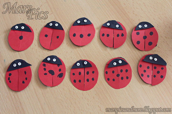 Lady bugs by Mrs Mar