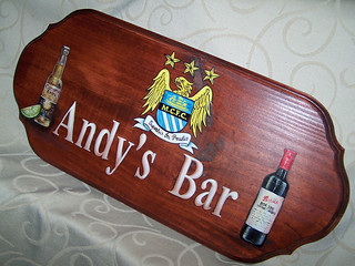Andy's Bar Sign