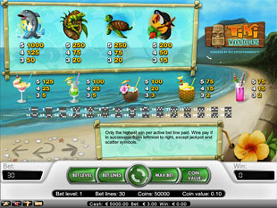 free Tiki Wonders slot payout