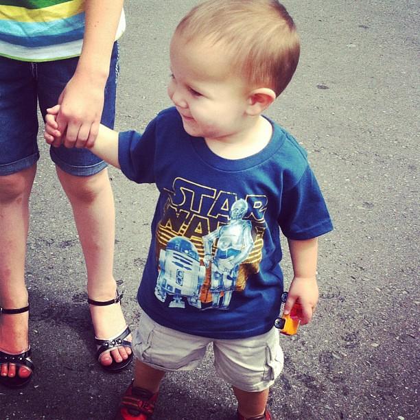 First Star Wars shirt. Big deal. :)
