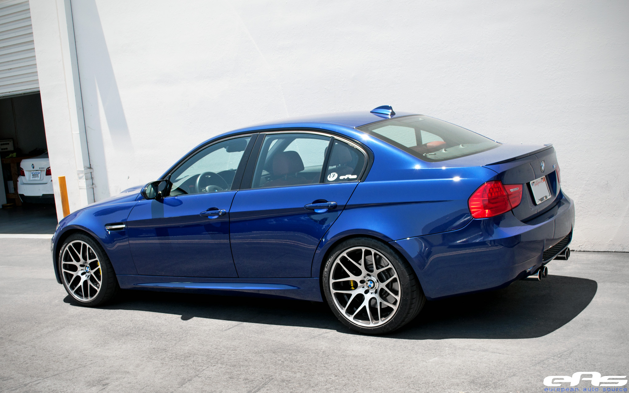 Interlagos Blue M3 Sedan With Ap Racing Brakes