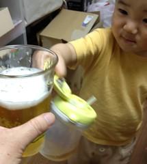 とらちゃんと乾杯 (2012/6/1)