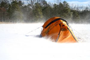 Winter Tent by beauford00 tent, camping, winter