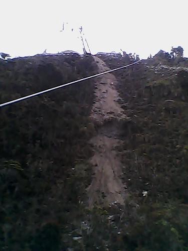 Teleférico de Mérida, desastre ambiental